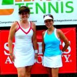 ATL BW Singles 3.0 - Linda Gay (finalist) & Laura Wilt (champ)