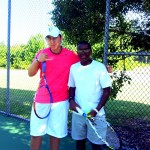 Junior Boys - 14u C, Group 1 - Gabriel Santos (champ) & Brandon Jackson (finalist)