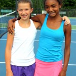 Junior Girls -- 14u B, Group 1 -- Grace Hosford (Finalist) & Victoria Smith (Champion)