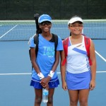 Junior Girls - 14u C, Group 2 [High] - Kendra Womack (Champion) & Abigail Ambat (Finalist)