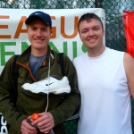 ATL Men's Singles 2.5 - Group 1 - Phil Hall (finalist) & Brett Haywood (champ)