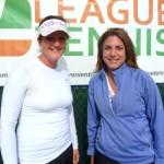 ATL Weekday Women's Singles 4.0 -kristie long (finalist) & Melissa Cianciotti (dhamp)