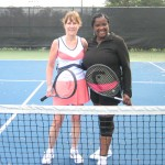 DAL Women's Singles 3.0 - Kim Schmeltz (champ) & Teana Bush (finalist)