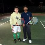 HOU Men's Singles 3.0 - Thien Tieu (champ) & Naresh Reddy Mandadi (finalist)
