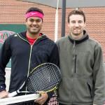 DAL Men's Singles 3.5 - Akhil Pawar (finalist) & Nathan Svedvik (champ)