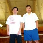HOU Men's Singles 4.0 - Kiet Nhan (finalist) & Jason Ye (champ)