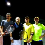 HOU Mens Doubles - 4.0 - William Byers - Adrian Jacob (finalists) & Daniel Ponce - John Mitchell (champs)