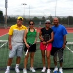 HOU Mixed 4.5 - Michael Tran, Julie Diep (champs) and Jyoti Belwal, Sushil Kumar (finalists)