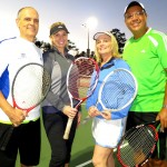 HOU Mixed Doubles - 3.5 - Bob Pattan - Chita Johnson (champs)) & Susanne Leblanc - Octavio Herrara (finalists)