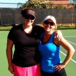 HOU Weekday Womens Doubles - 4.0 - Jennifer Bowen & Laura White (champs)