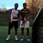 DAL Mens Singles - 3 - Vikram Mitra (finalist) & HEMANTA SEN (champ)