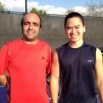 DAL Mens Singles - 3.0 - Antonio Camacho (finalist) & John Vong (champ)