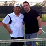 HOU Mens Singles - 4.5 - Sam Ahn (champ) & Chad Herold (finalist)