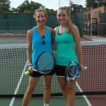 HOU BW Singles - 3.0 Group 1 - Mary Headrick (finalist) and Ashley Shook (champ)