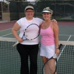 HOU BW Singles 3.5 - Liane Soukup and Margaret Ceconi (finalists)