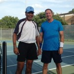 HOU Mens Singles - 3.5 - Inderpal Sandhu (champ) and Steve Hackbarth (finalist)