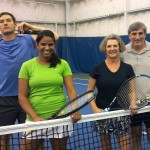 HOU Mixed 4.0 - Tyler Strauss - Nadeeka Dias (finalists) and Barbara - Mike Giordanelli (champs)