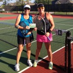 HOU Weekday Doubles - Nancy Bierhaus and tina couet (champs)