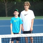 11 u B Boys Singles - Dylan Mallon (champ) and Cody Chandler (finalist)