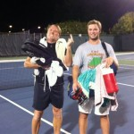 JAX Men's Singles Summer 4.5 - John Fountain (finalist) and Eric Lanoue (champ)