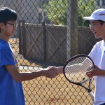 1-Matthew (blue) and Christian (white) handshake