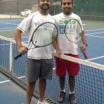 League Tennis - Rohit Bhagat & Kevin Raj